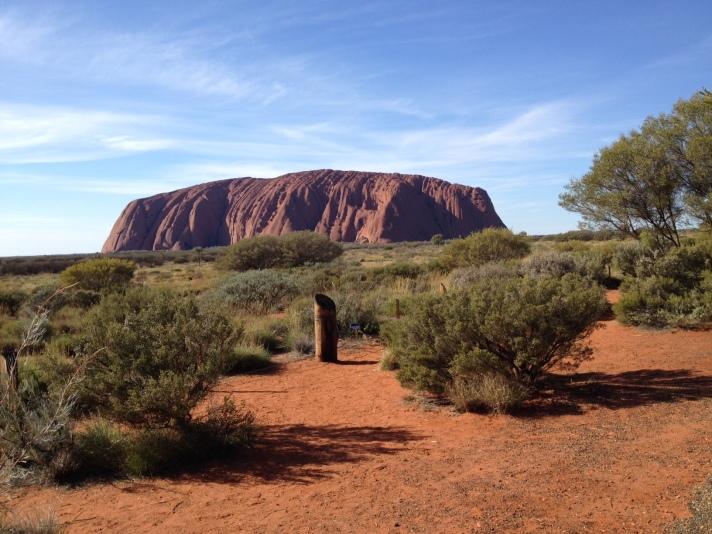 2014 (26) Barbara's birthday at Uluru