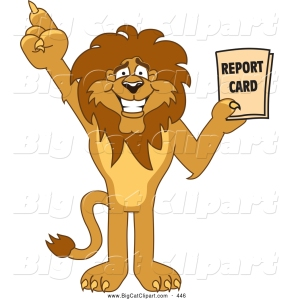 big-cat-cartoon-vector-clipart-of-a-friendly-lion-character-mascot-holding-a-good-report-card-by-toons4biz-446