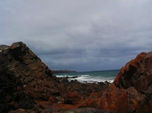 Day 13(13) View between rocks.
