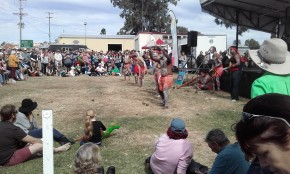 70 Dancers at Goomeri Pumpkin Festival, 29 May 2016 - Copy