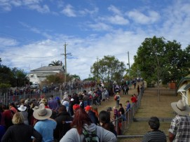 71 Crowds watching Great Australian Pumpkin Roll - Copy
