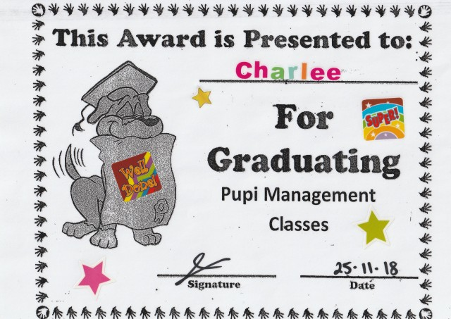 35 Charlee's Management Graduation, 26 Nov 18