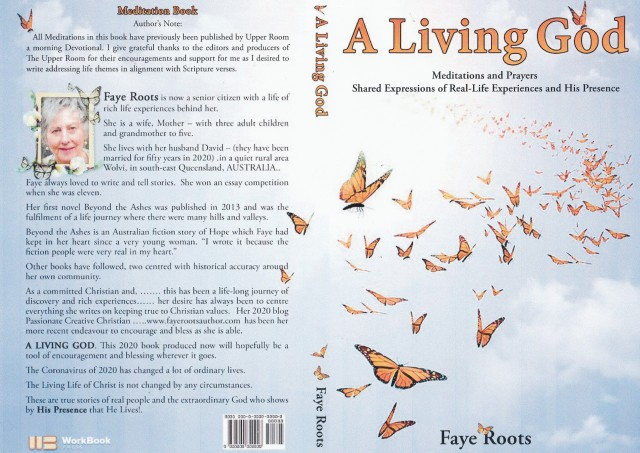 Book cover -A Living God - Copy